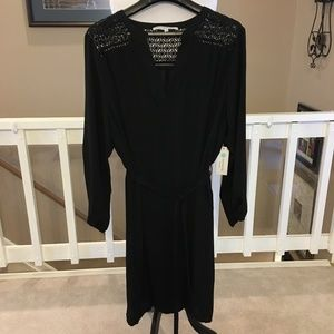 Collective Concepts Black Tie Waist Dress Size 2X